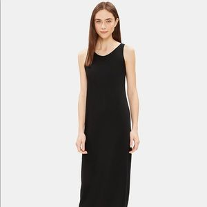 Eileen Fisher full length tank dress new w/tags
